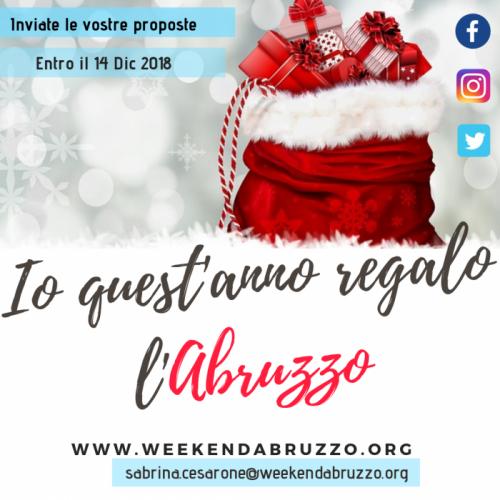 Regali Entro Natale.Regali Di Natale Abruzzo E Tu Hai Dei Regali Da Vendere