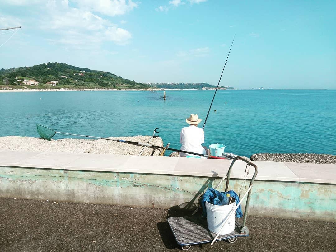 La costa dei trabocchi è una palestara a cielo aperto. Weekend Abruzzo