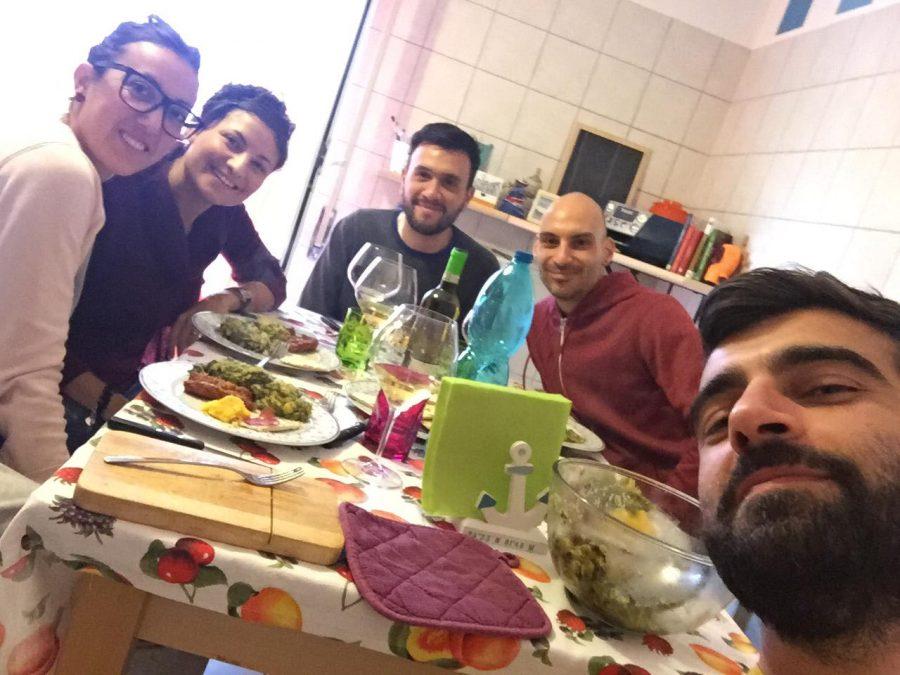 Un weekend in Abruzzo: ecco come uscire dagli schemi mentali- pranzo in famiglia