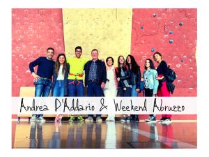 Climber Abruzzese Andrea D'addazio : storie di persone con Weekend Abruzzo