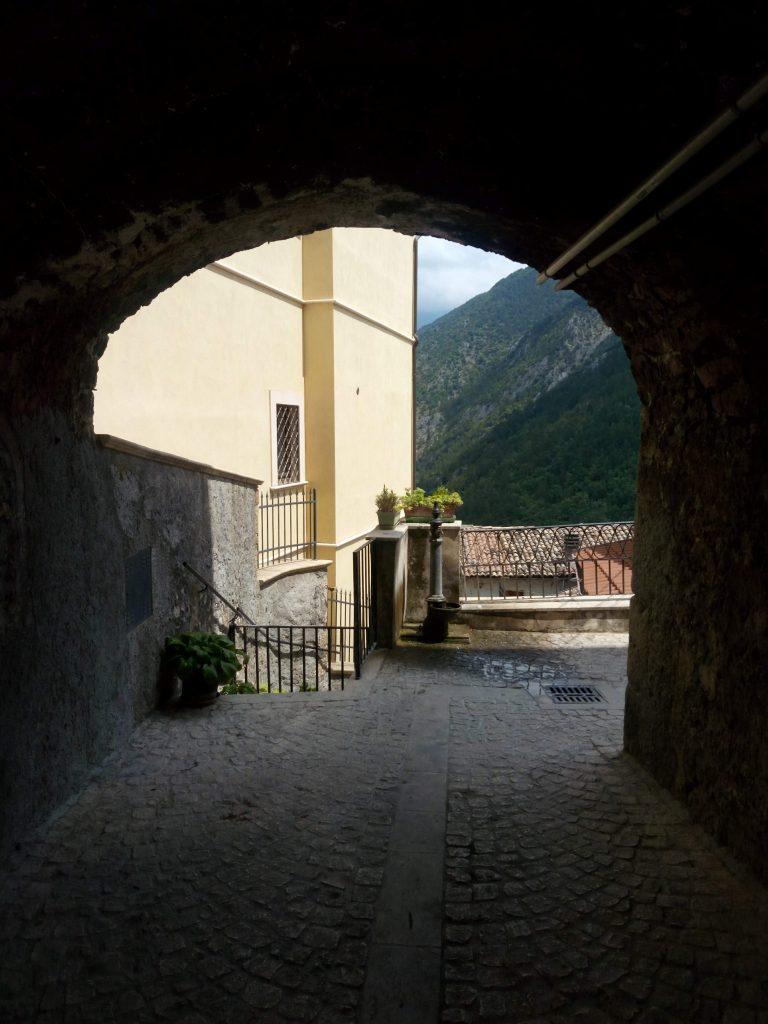 Pacentro Abruzzo nella Valle Peligna