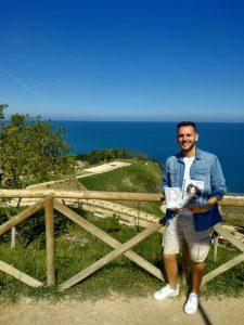 Attilio Ortolano nella sua bellissima cittadina Ortona - Weekend Abruzzo