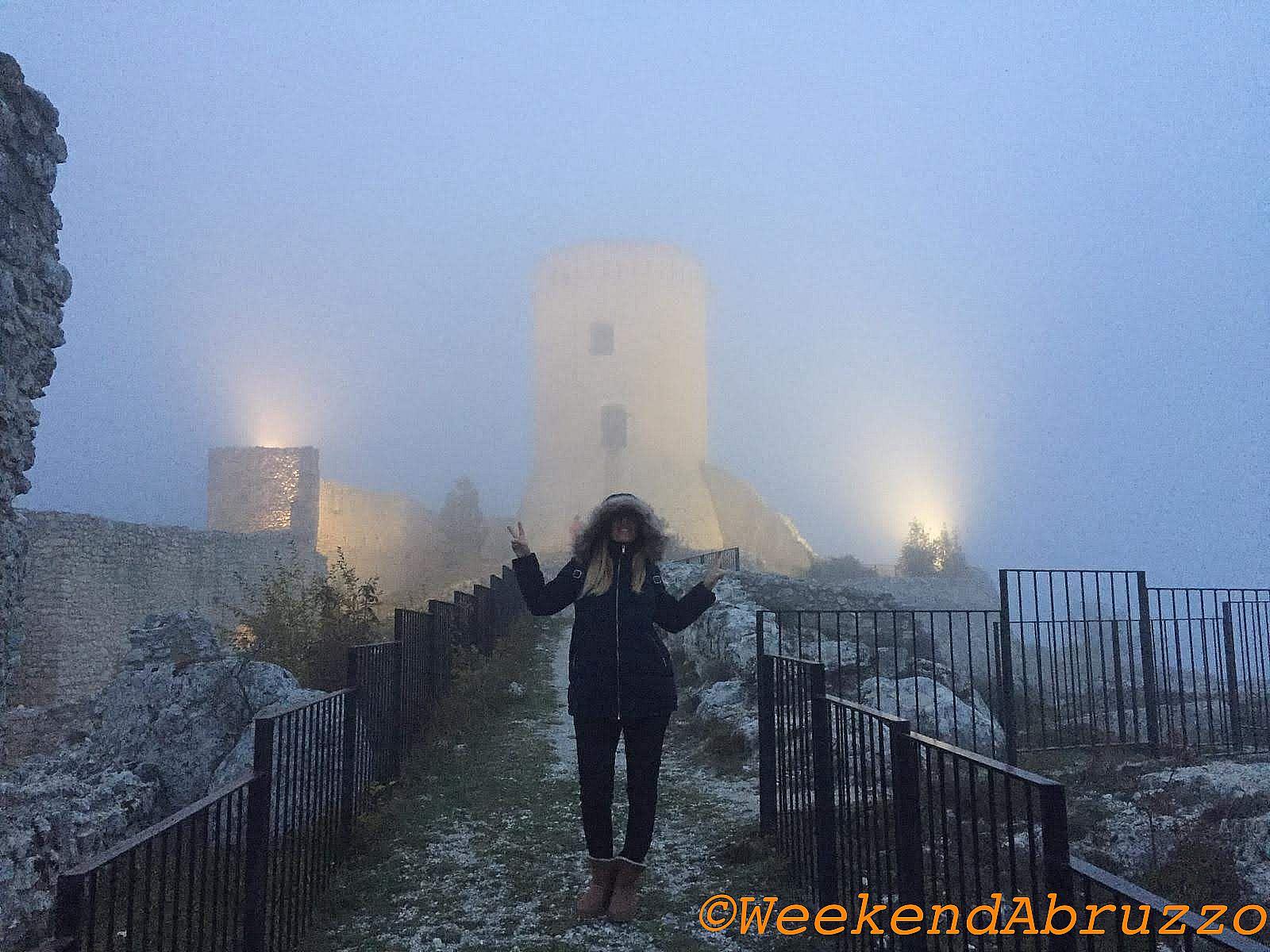 Bominaco  (AQ) e il suo castello