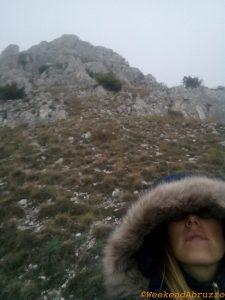 Bominaco (AQ) verso il Castello di Bominaco