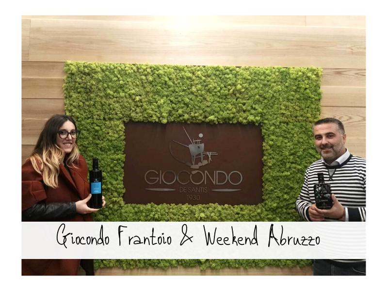 Dino Del Frantoio Giocondo E Weekend Abruzzo
