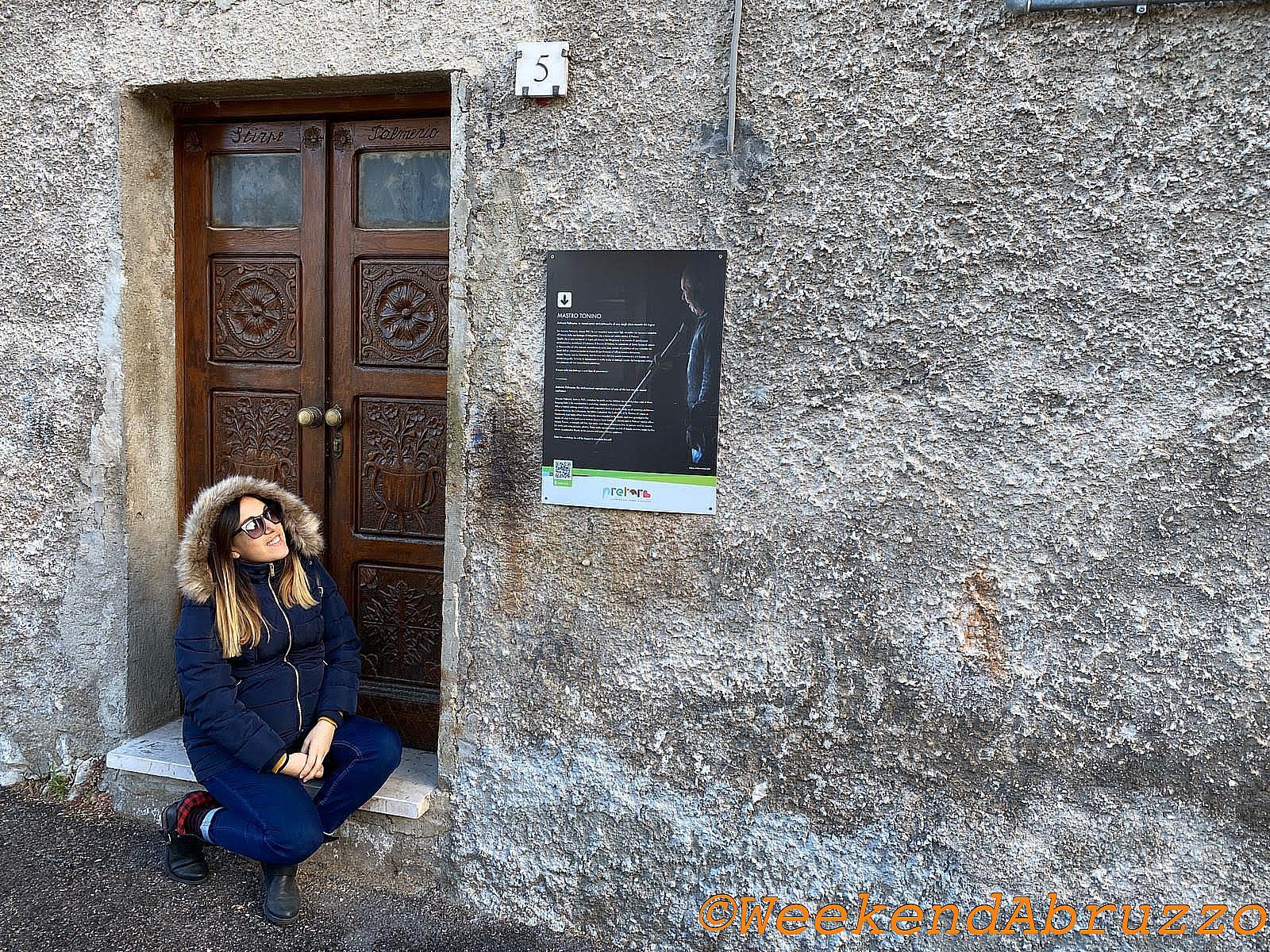 Weekend Abruzzo a Pretoro nel laboratorio dell'ultimo fusaiola