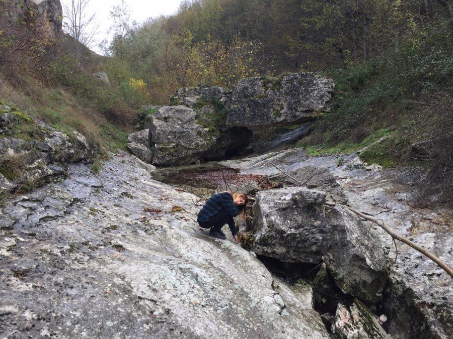 Il fiume nella vallata dell'eremo di San Bartolomeo