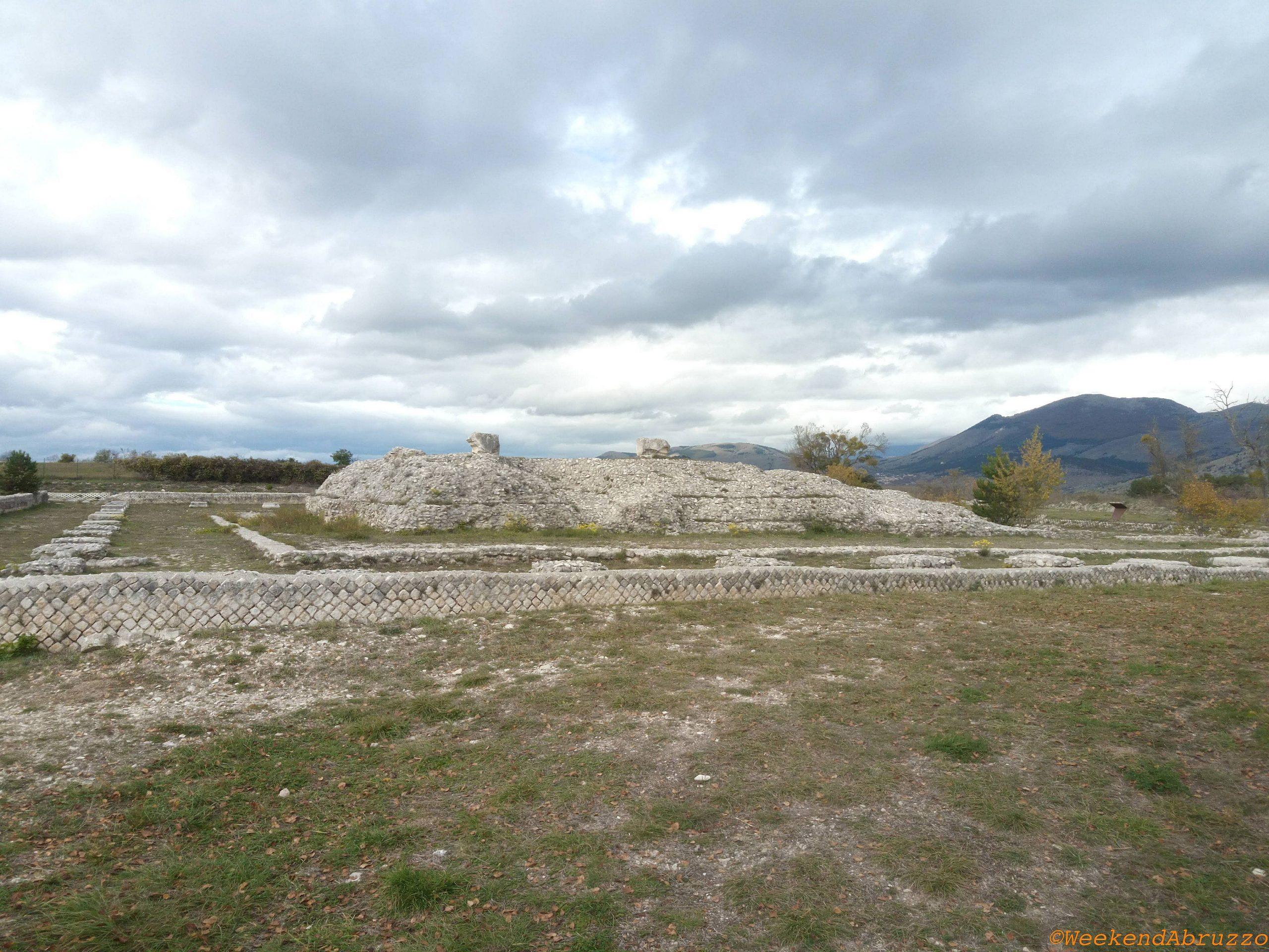 Peltuinum e il tempio romano in Abruzzo