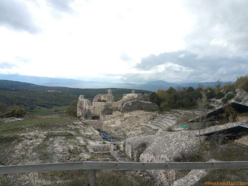 Peltuinum e il teatro romano in Abruzzo